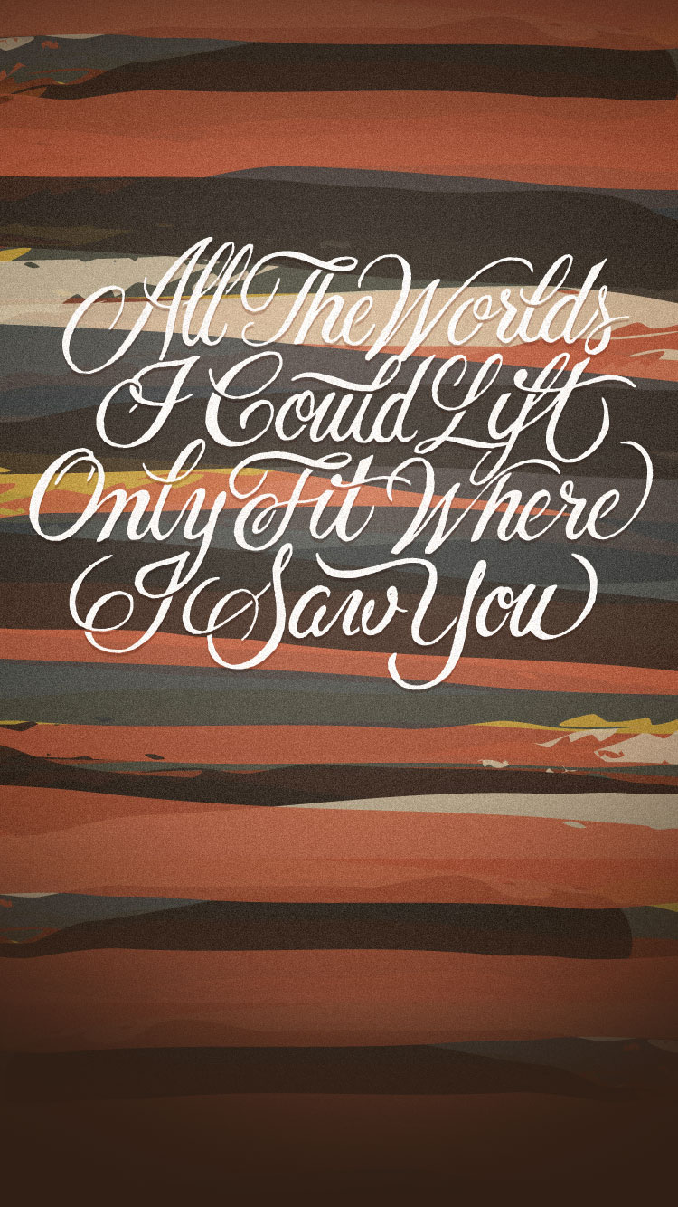 Cute Quote Wallpaper For Iphone 4 20 Best Cool Typography Iphone 6 Wallpapers Amp Backgrounds