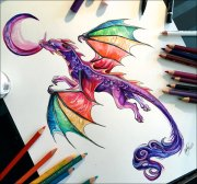 amazing colour pencil drawings