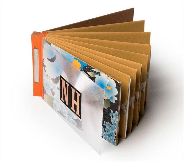 18 Beautiful Examples of Pamphlet  Leaflet Designs  Designbolts