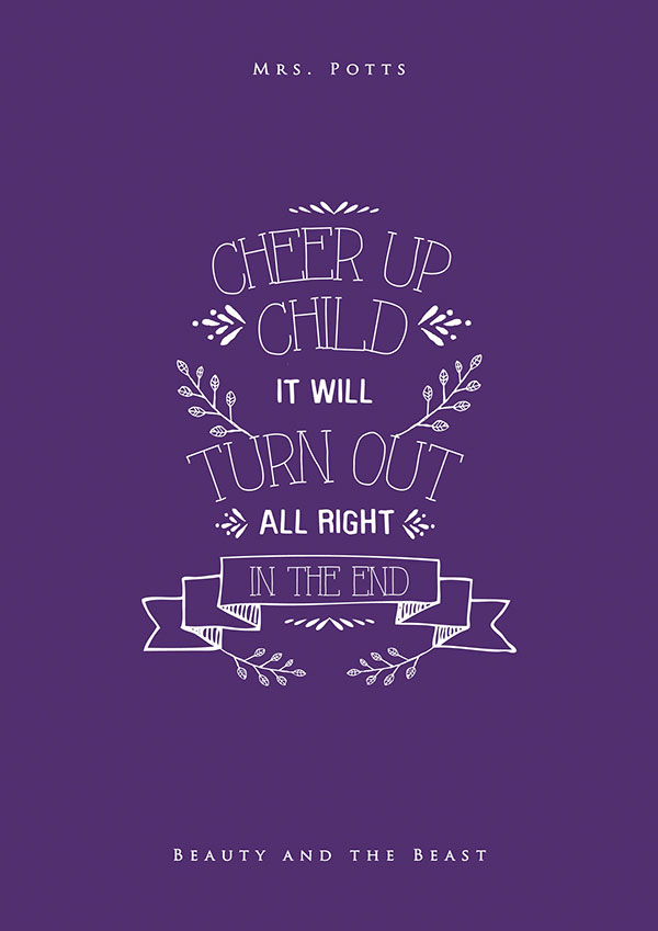 Lettered Quotes Hand Walt Disney