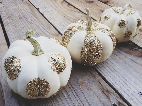 Glam Fall Background Wallpaper 25 No Carve Amp Painted Pumpkin Ideas A New Trend Of