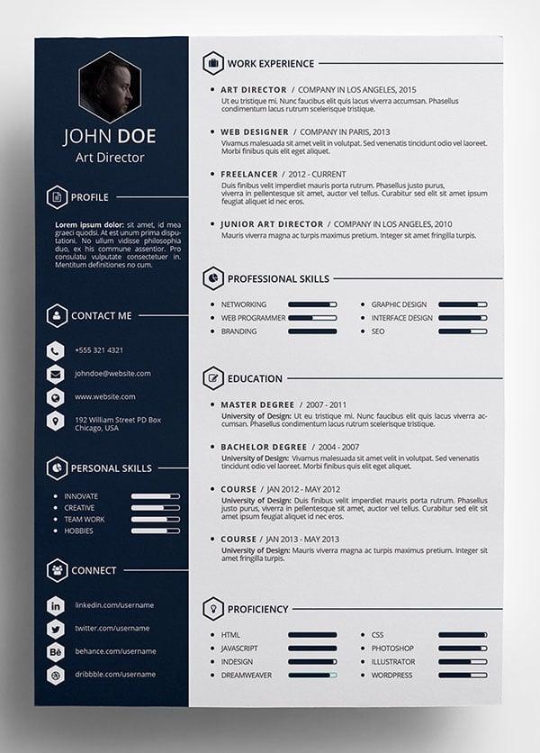word creative resume templates