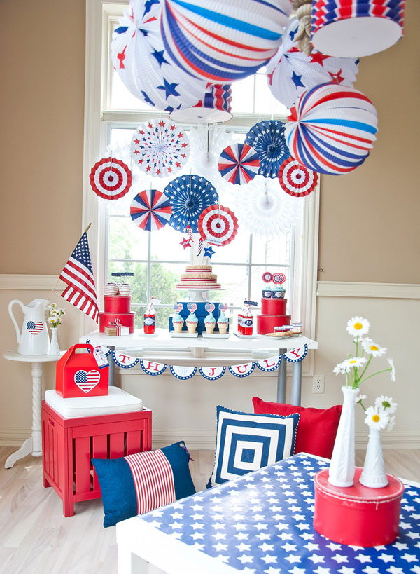 Create A Festive Fourth Of July Diy Tabletop Decor