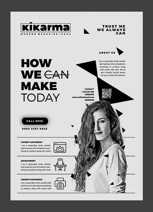 2017 Modern 20+ Flyer Designs for Inspiration
