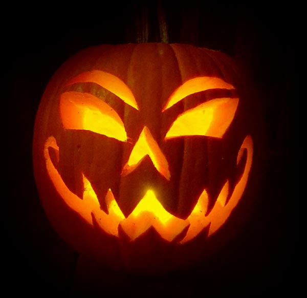 50 Free Simple Yet Scary Halloween Pumpkin Carving Ideas