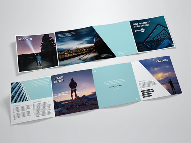 20 Beautiful Brochure Design Layout Ideas & Templates