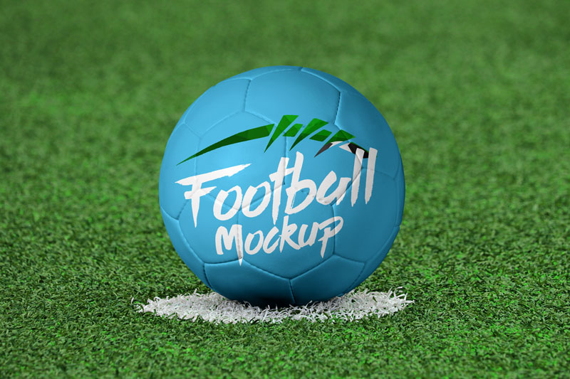 This fully layered psd file allows you to show off your design. Free Soccer Football Mockup Psd