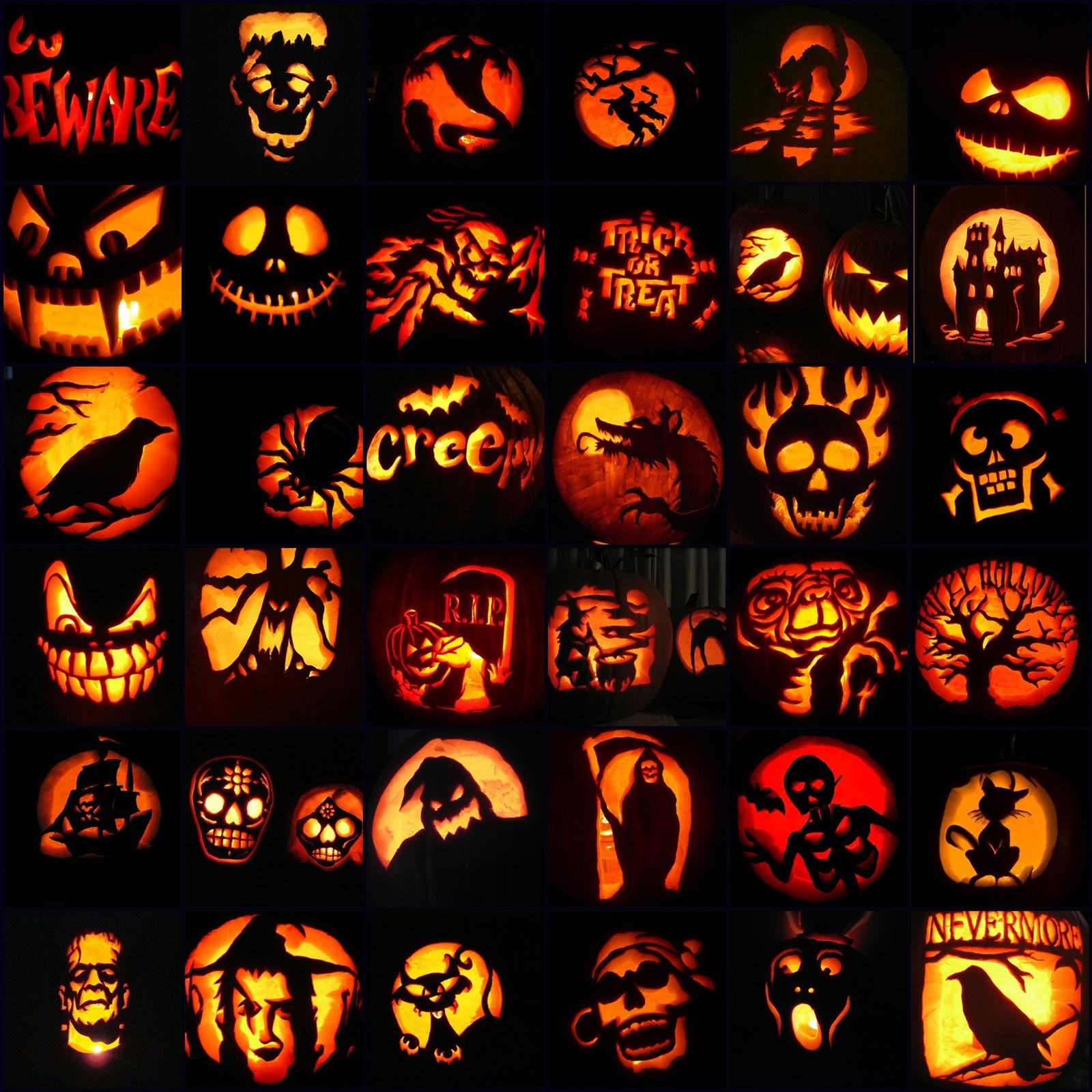 600 Scary Halloween Pumpkin Carving Face Ideas Amp Designs