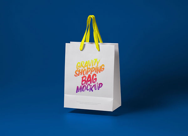 Free duffle bag mockup to showcase your design in a photorealistic style. 50 High Quality Free Shopping Bag Mockup Psd Files