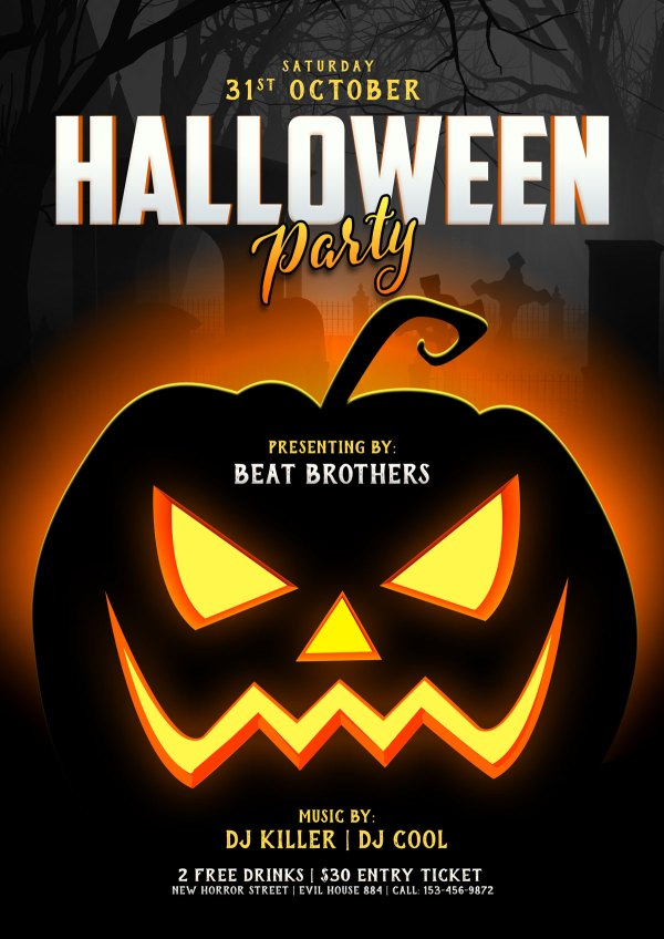 free halloween fonts # 49