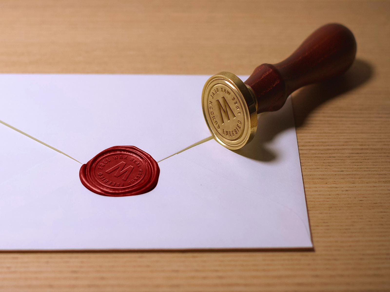 There are so many types and shapes of rubber stamps for official documents,. Free Wax Seal Stamp Mockup Psd Designbolts