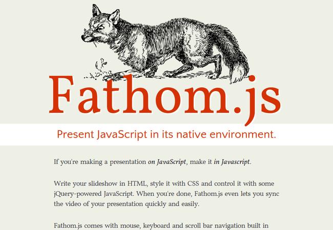 fathomjs 12 Browser-Based CSS3 Slideshow Tools