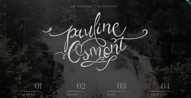 pauline_osmont 14 Websites for Your Typography Inspiration