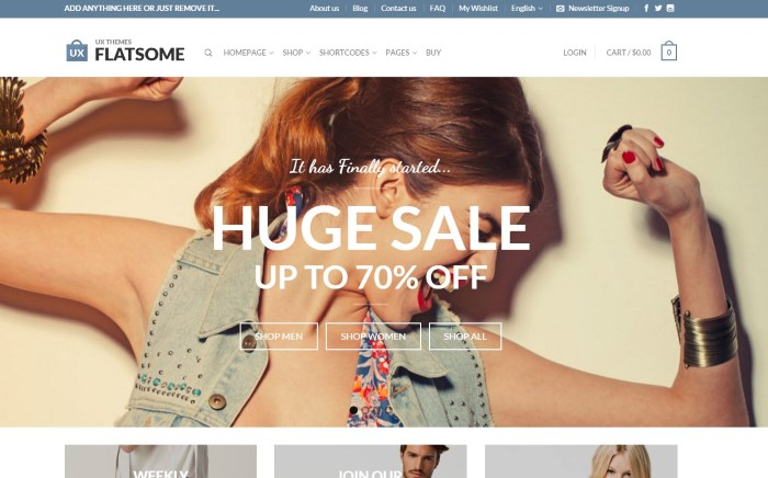 flatsome 7 Top WooCommerce WordPress Themes on the Market + Why They're Best