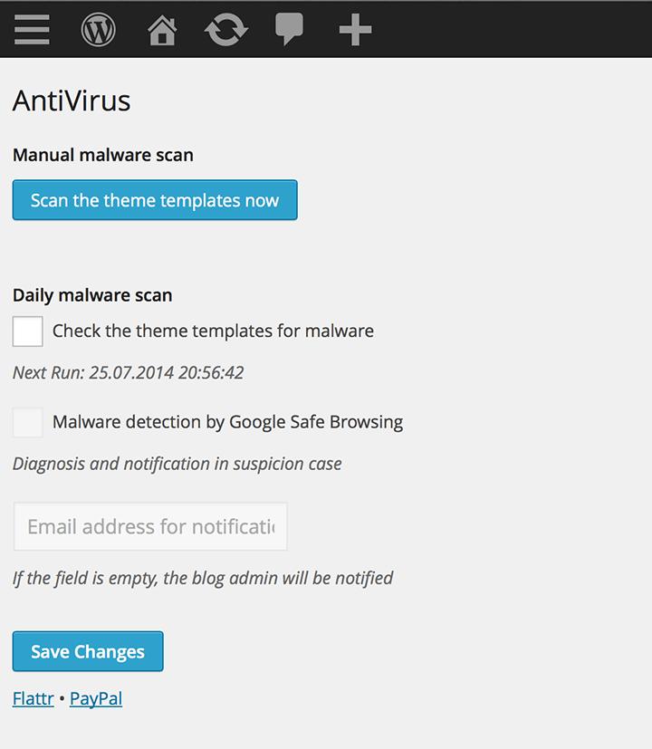 Anti-Virus 10 Plugins to Step Up WordPress Security