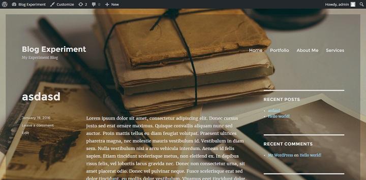 backgroundopaque How To Master Twenty Sixteen (Or Any WordPress Theme)