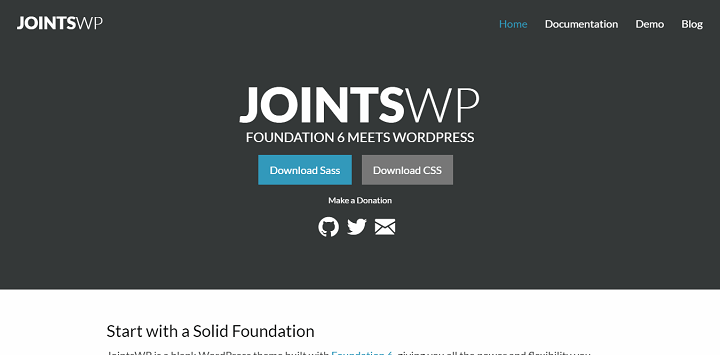 jointswp 8 Best WordPress Starter Themes And Frameworks For New WP Developers