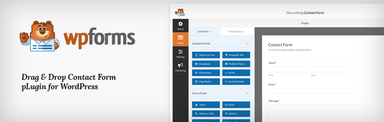 wpforms 8 Best Contact Form Plugins for WordPress