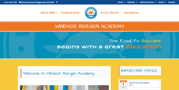 Windsor-Bergen-Academy 15 Classy Divi Websites For Your Inspiration