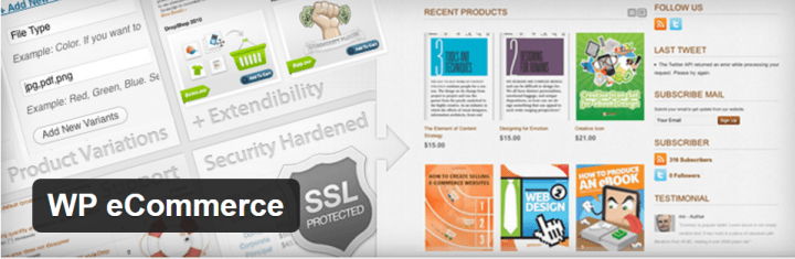 wp-ecommerce 8 of the Best eCommerce WordPress Plugins Compared