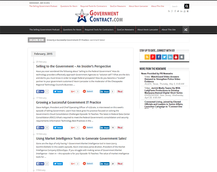 Government-Contract 20 Impressive Websites Built With Sahifa WordPress Theme