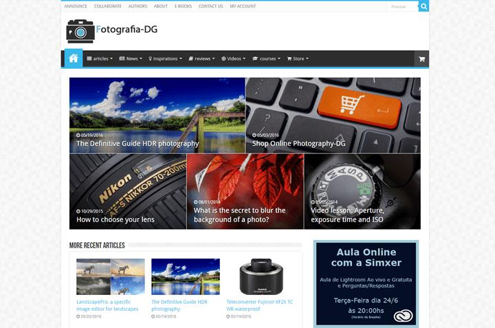 Photography-DG 20 Impressive Websites Built With Sahifa WordPress Theme