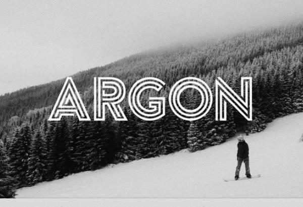 argon 27 Free & Premium Designer Fonts