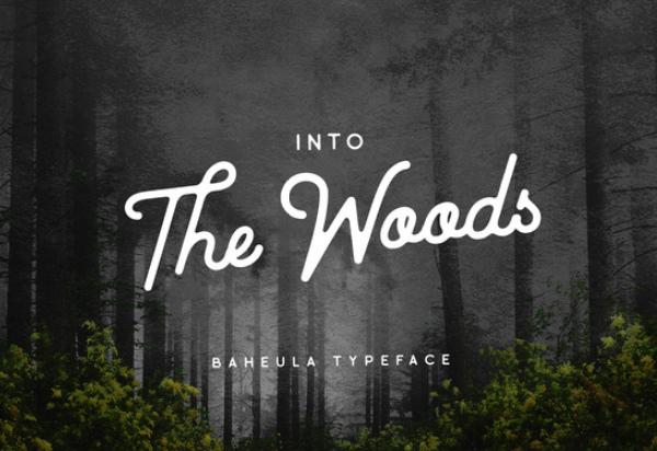 baheula-vintage 27 Free & Premium Designer Fonts