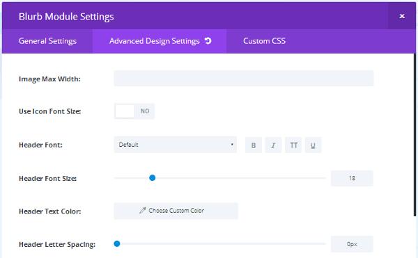 divi-builder-module-advanced-design-settings Divi Builder Plugin Review: An Overview of Elegant Themes' Page Builder Plugin