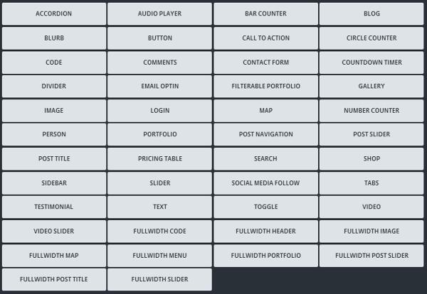 divi-builder-modules-1 Divi Builder Plugin Review: An Overview of Elegant Themes' Page Builder Plugin