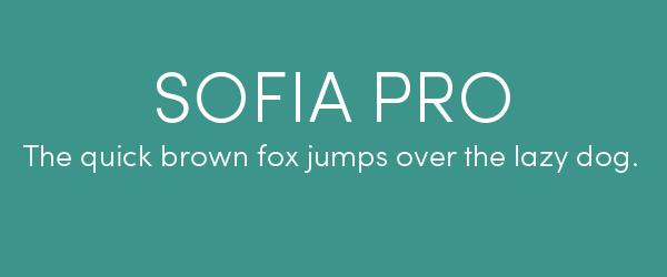 sofia-pro Best Fonts for Websites: 25 Free Fonts for Websites
