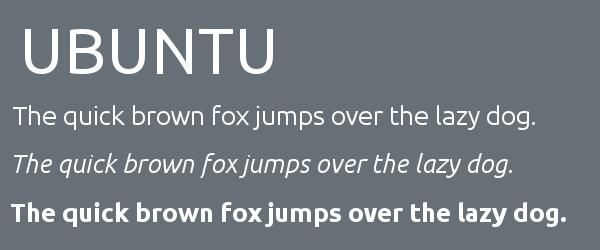 ubuntu Best Fonts for Websites: 25 Free Fonts for Websites