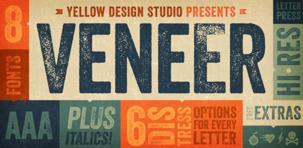 veneer-logo 22 Beautiful Premium Fonts for Logo Designs