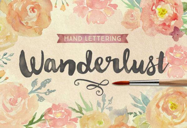 wanderlust 27 Free & Premium Designer Fonts