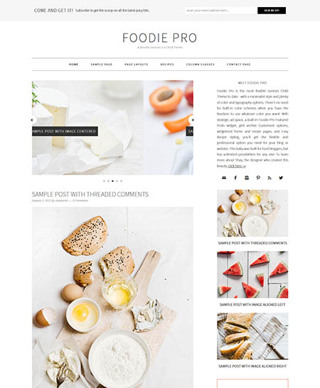 foodie-pro-wordpress-theme 13 Best Food Themes for Sharing Recipes