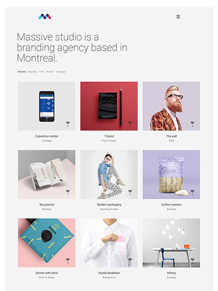 massic-dynamic-theme 11+ Best WordPress Portfolio Themes to Showcase Your Work