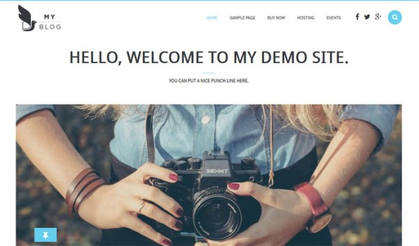 myblog-theme 15 of the Very Best WordPress Themes for Writers