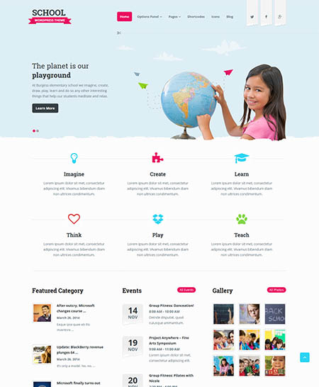 school-wordpress-theme 12 Best Non-Profit & Charity WordPress Themes