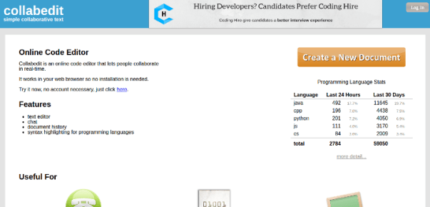 collab-edit 15 Useful Code Sharing Websites for Web Developers