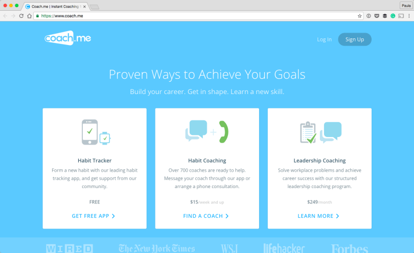 Coach.me-Instant-Coaching-for-Any-Goal.-2016-10-02-02-51-47 25 Useful Resources for working Digital Nomads