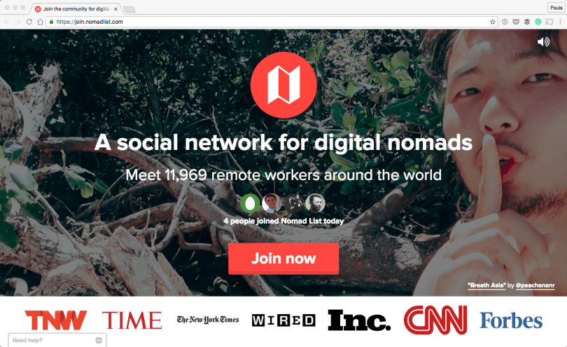 Join-the-community-for-digital-nomads-2016-10-02-02-49-00 25 Useful Resources for working Digital Nomads