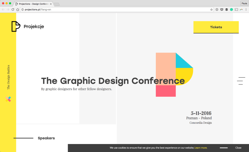 Projections-Design-Conference-Poznan-Poland-2016-09-30-21-28-00 A Collection of Fantastic Fonts to Try in your Next Design
