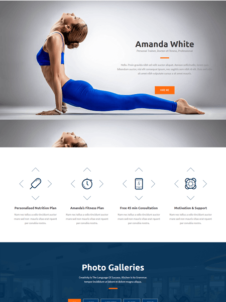 bizzex 22 of the best Yoga & Fitness WordPress Themes for 2017