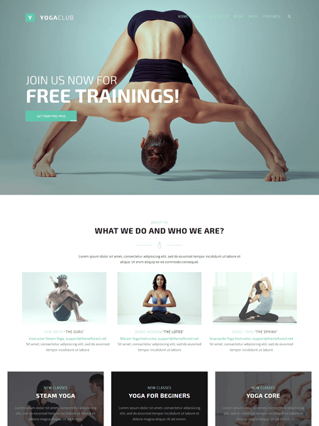 fight-club 22 of the best Yoga & Fitness WordPress Themes for 2017