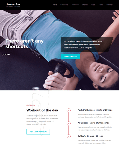 inshape 11 Powerful Sports & Fitness WordPress Themes for 2017