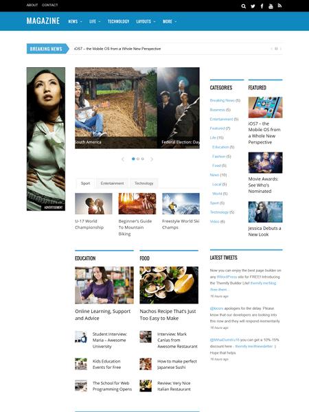 magazine 16+ Best AdSense Optimized WordPress Themes