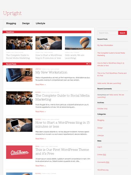 upright 30 Newsworthy Magazine WordPress Themes for Blogs & Magazines