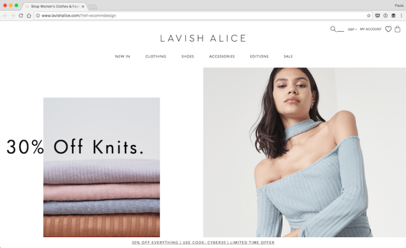 Shop-Womens-Clothes-Fashion-Online-Lavish-Alice-2016-11-27-17-36-54 25 Creative Designs of WordPress Websites