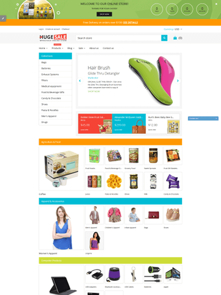 huge-sale 15 Top Shopify Themes for Your Online Store