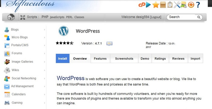 install-wordpress-step-3 How To Make A Website with WordPress – The Ultimate Guide